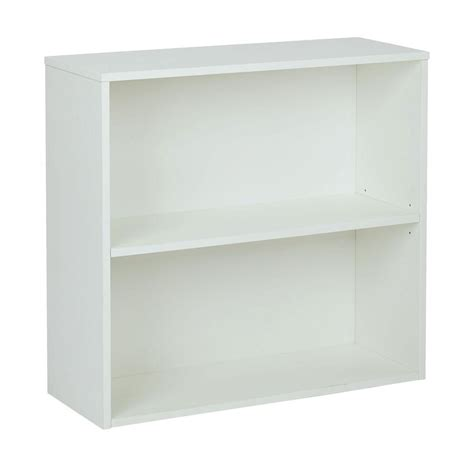 pro line ii prado white open bookcase prd3230 wh the