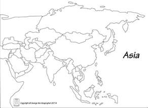 Outline Map Europe And Asia europe asia map outline thefreebiedepot