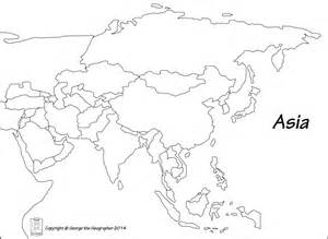 Blank Political Map Of Asia by Blank World Map With Countries Labeled Country Borders