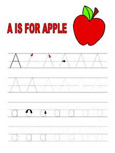 children s learning activities letter tracer pages