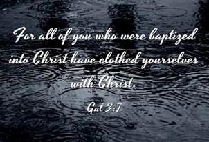 7 bible verses baptism card