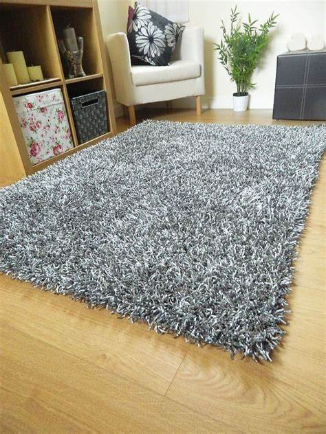 silver grey rugs silver grey rug shag spaghetti plain sparkle large small runner noodle mat grey rugs gray and