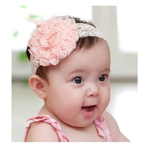 baby headbands baby headband uk vintage lace flower baby headband free uk delivery