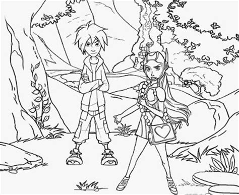 Landscapes Coloring Part 6 Free Coloring Pages Printable Pictures To Color And