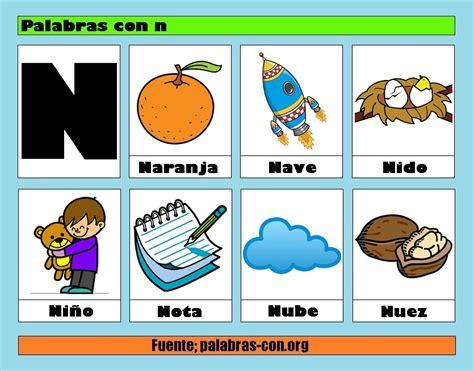 Imagenes En Ingles Que Empiecen Con N | palabras con la letra n n ejemplos de palabras con n