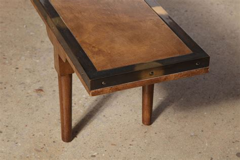 coffee table narrow narrow mastercraft coffee table at 1stdibs