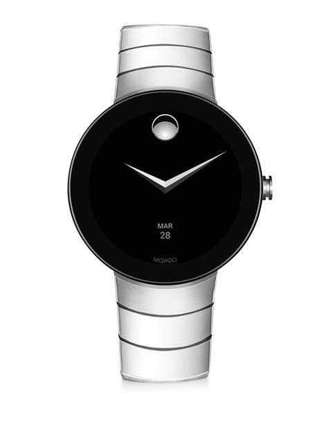 Movado Connect Stainless Steel Bracelet Smartwatch in