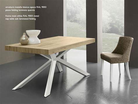 tavolo quadrato allungabile legno tavolo allungabile osaka legno