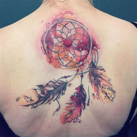 watercolor dreamcatcher tattoos 50 dreamcatcher best designs with meaning