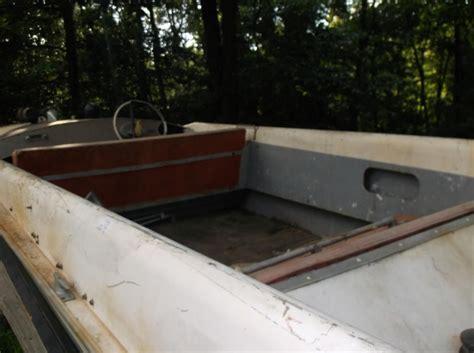 richline boats vintage richline boat 16 v aluminum rocket 1950 s or 60