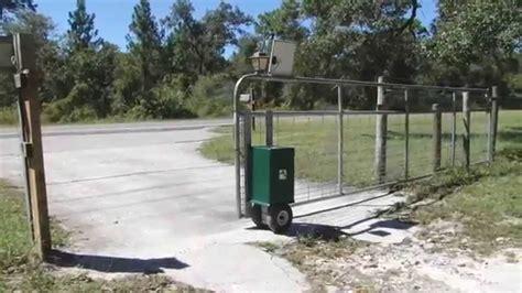 automatic gate openers gator power gates newest automatic gate opener