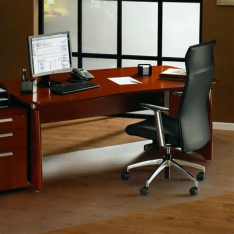 Corner Desk Chair Mat by Floortex Ultimat Polycarbonate Corner