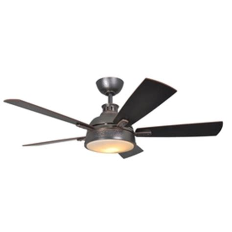 Allen Roth Ceiling Fan Remote by Shop Allen Roth 52 In Copper Lake Hammered Bronze