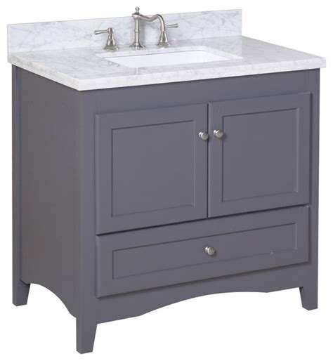 charcoal grey bathroom vanity abbey 36 in bath vanity carrara charcoal gray