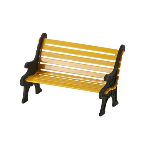wrought iron park bench department 56 general village accessories city wrought