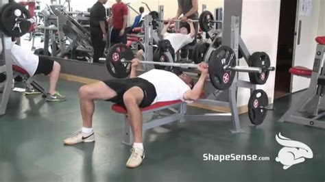 wide grip decline bench press chest exercise videos shapesense com