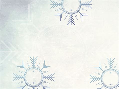 Winter Wonder Land Backgrounds Blue Cartoon Christmas White Templates Free Ppt Grounds Free Winter Powerpoint Backgrounds
