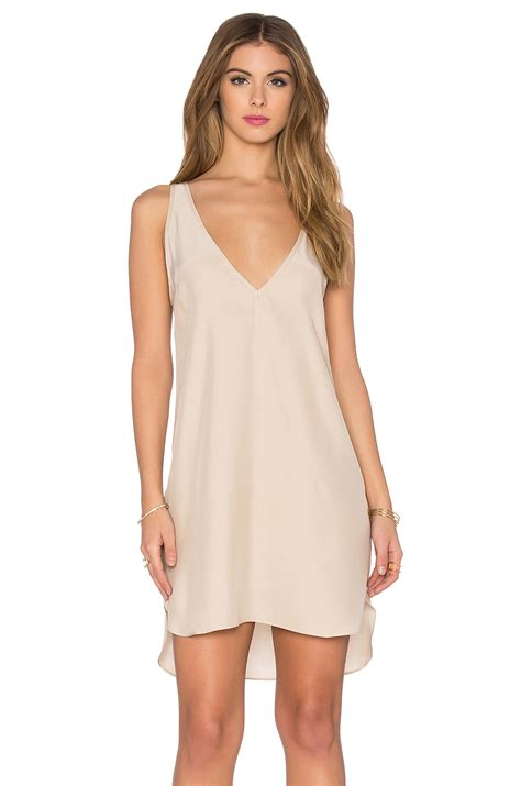 dress amanda amanda uprichard vita dress in white lyst