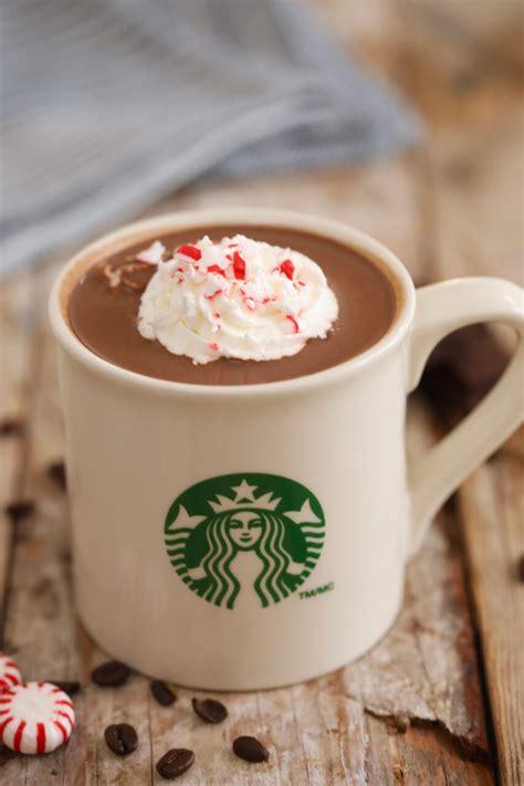 Starbucks Cocoa Peppermint starbucks drinks pumpkin spice latte salted