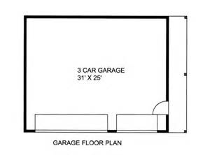 3 Car Garage Size Jacks Fork 3 Car Garage Plans