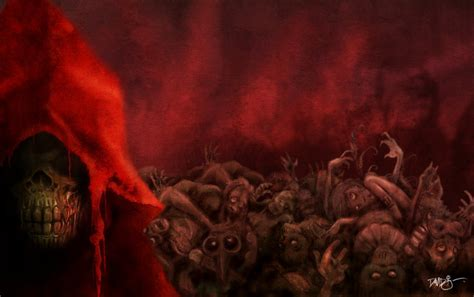 death is a red the masque of the red death by disezno on