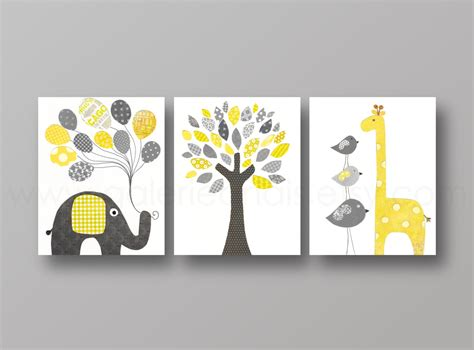 Nursery Art Print Nursery Wall Decor Baby Nursery By Etsy Nursery Decor