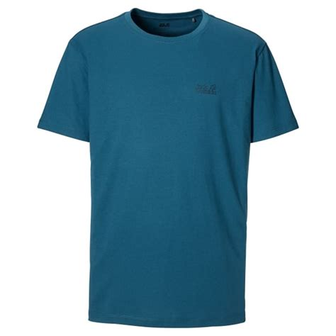 Tshirt Wolfskin Paw wolfskin mens paw t shirt moroccan blue mens from