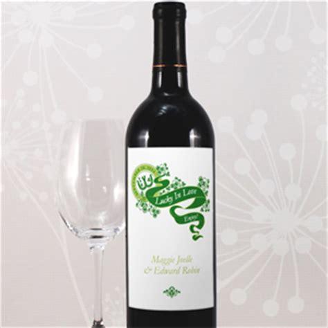 irish personalized wine label 8 pcs wine wedding