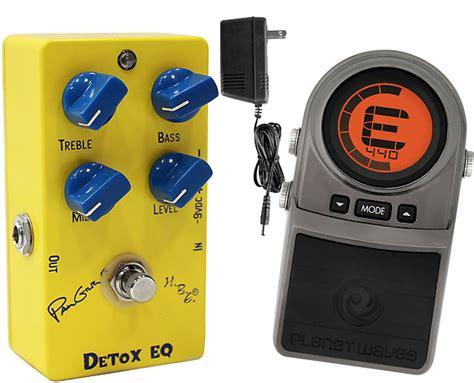 Detox Eq Pedal Review by Homebrew Detox Eq Paul Gilbert Signature Model Pedal W