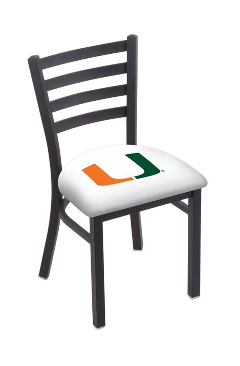 miami fl chair w official college logo family leisure