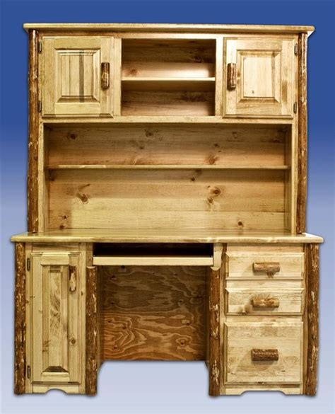 rustic desk with hutch rustic desk with hutch 63 in desk with hutch rustic