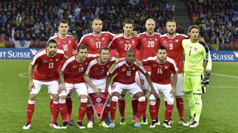 Schweizer Nationalmannschaft Schweiz Der Kader Bei Der Fu 223 Em Kader Schweiz