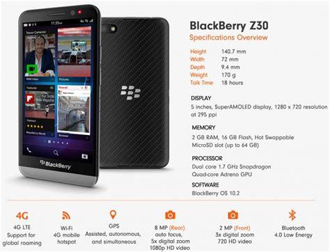 Harga Bb blackberry z30 harga terbaru dan spesifikasi lengkap