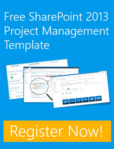 sharepoint project management templates the free sharepoint 2013 template on brightwork