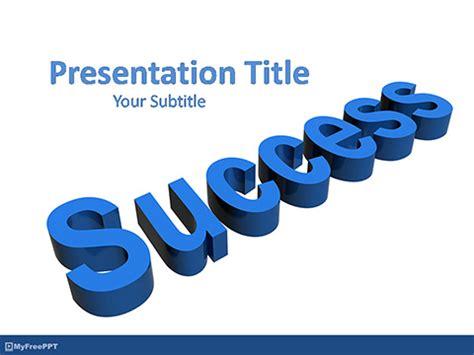 success powerpoint templates free free powerpoint templates myfreeppt