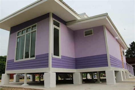 cat rumah kampung desainrumahidcom