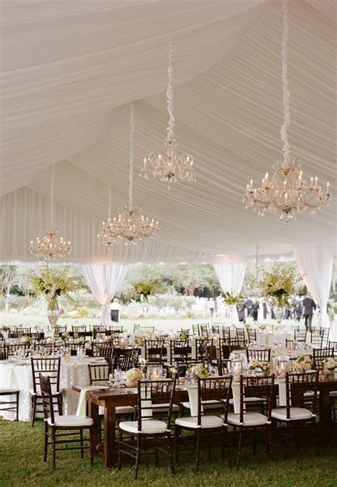 Wedding Decorations: 40 Romantic Ideas To Use Chandeliers