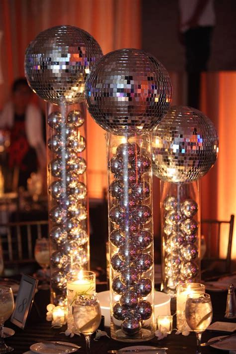 disco centerpieces groove up your with some disco centerpieces to