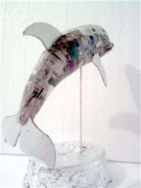 How To Make A Paper Mache Dolphin - index of q 520efeeb5
