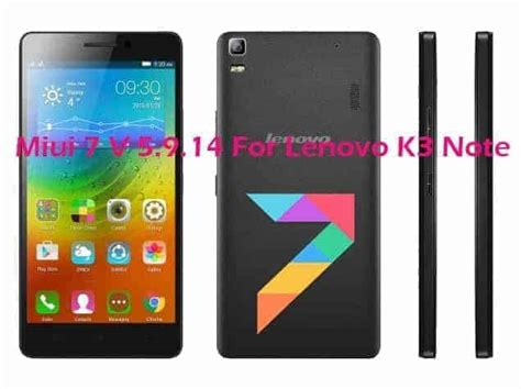 themes for android lenovo k3 note miui 7 5 9 14 lollipop custom rom for lenovo k3 note