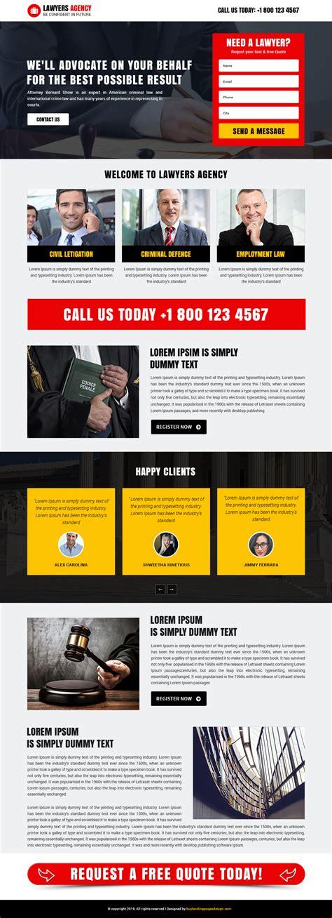 buy landing page template best responsive lawyers agency template buy landing