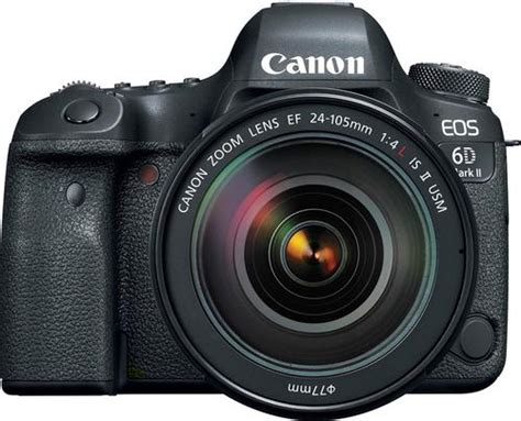 canon eos 6d best buy canon eos 6d ii dslr with ef 24 105mm f 4l is
