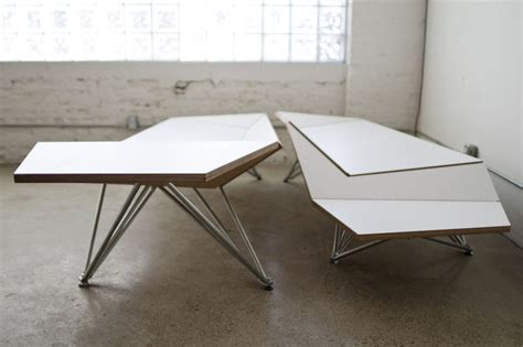 origami furniture design bendable origami benches origami bench