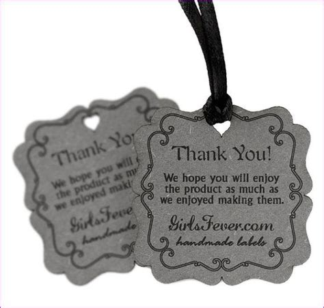Personalized Tags For Handmade Items - 25 best ideas about jewelry tags on bracelet