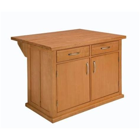 Kitchen Island At Home Depot Home Styles Central Park Kitchen Island In Autumn Blush