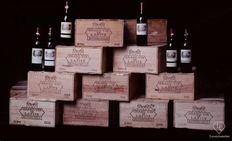 chateau lafite rothschild best vintage the most iconic and record breaking auctions 2016