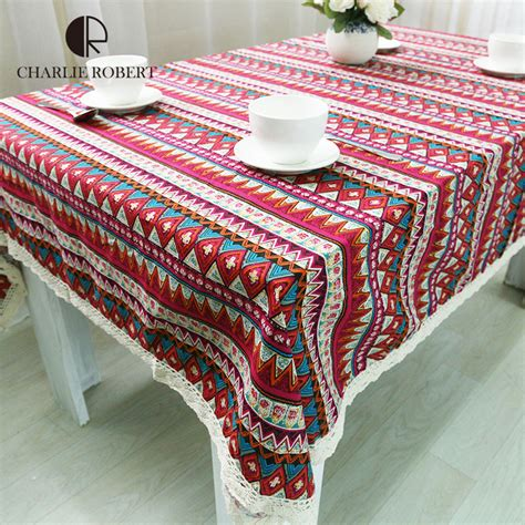 Decorative Table Cloths 2016 New Arrival Tablecloth For Dinner Sign Style High