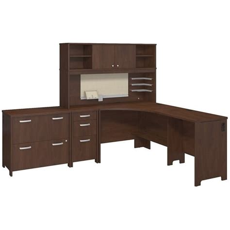 bush office desks bush envoy 3 l shaped desk office set in hansen