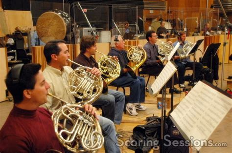 french horn section nathan lanier scores lucifer at fox with large orchestra