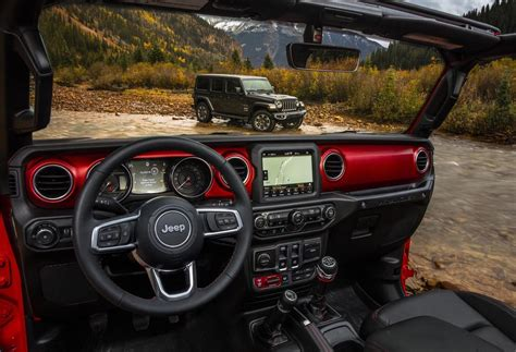 new jeep truck interior 2018 jeep wrangler interior reveals new colour options